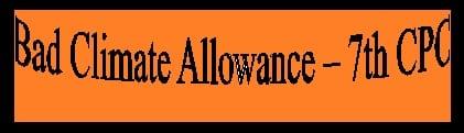 Bad Climate Allowance Rules Eligibility