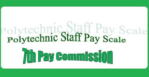 Polytechnic Staff Pay Scale Matrix Allowance
